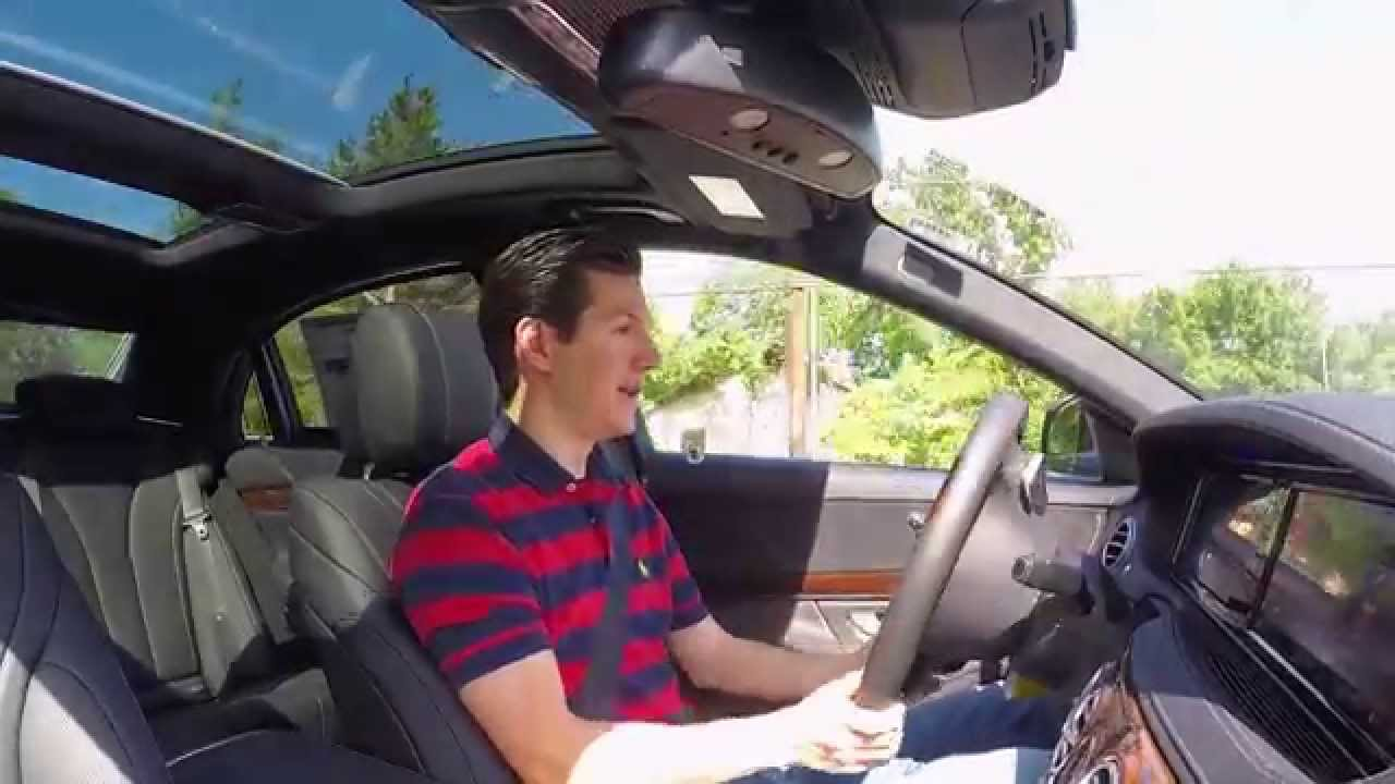 2015 Mercedes-Benz S550 Car Review Video