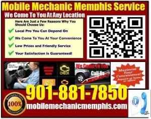 Mobile Mechanic Memphis Tennessee Auto Car Repair Service shop on wheels