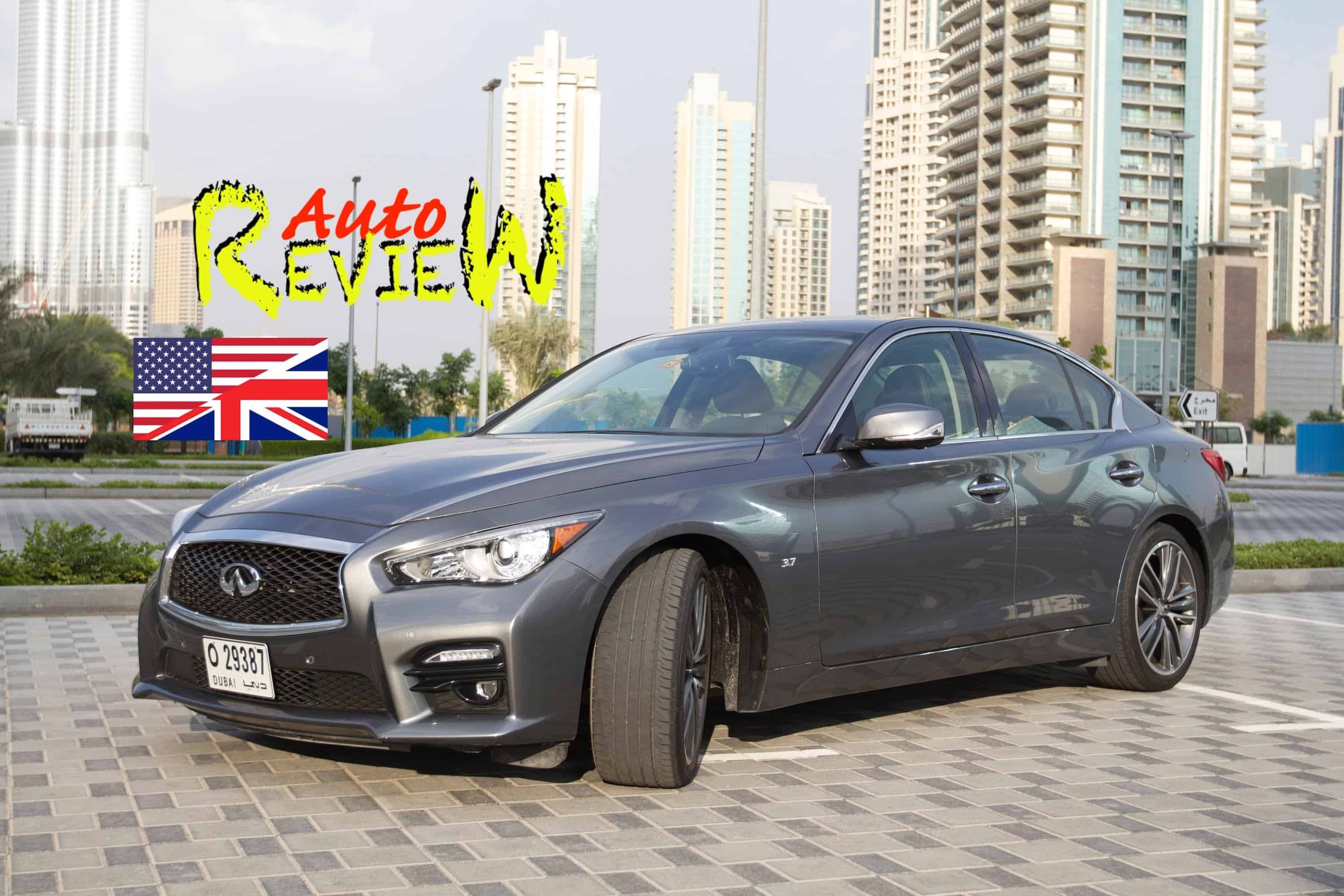 2015 Infiniti Q50 Car Review Video