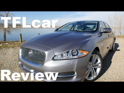 2015 Jaguar XJL Car Review Video