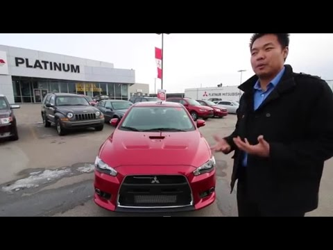 2015 Mitsubishi Lancer Evolution Car Review Video