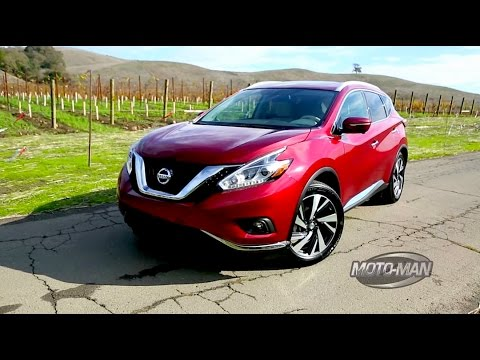 2015 Nissan Murano Car Review Video Tour