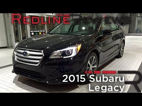 2015 Subaru Legacy Car Review Video